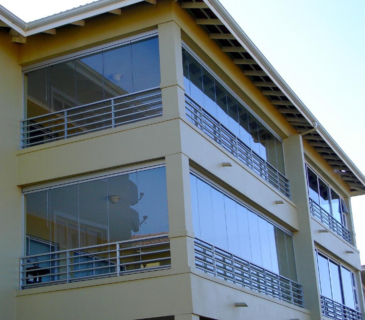groene aanslag balkon